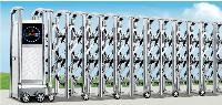 Cổng xếp inox mẫu AM 17